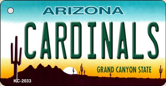 Cardinals Arizona State License Plate Wholesale Key Chain KC-2033