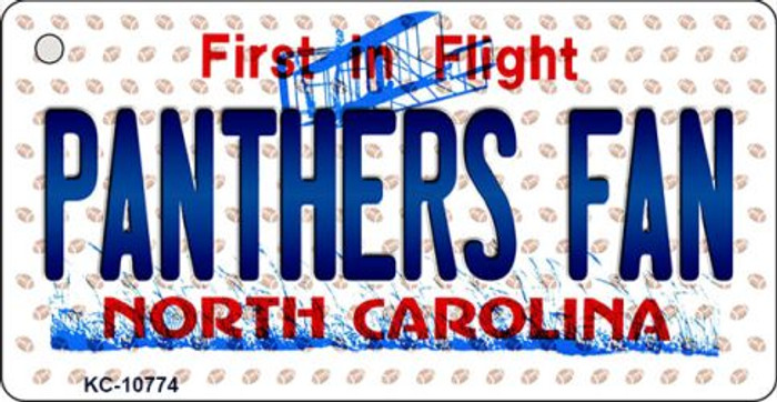 Panthers Fan North Carolina State License Plate Wholesale Key Chain KC-10774