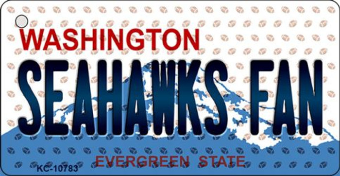Seahawks Fan Washington State License Plate Wholesale Key Chain KC-10783