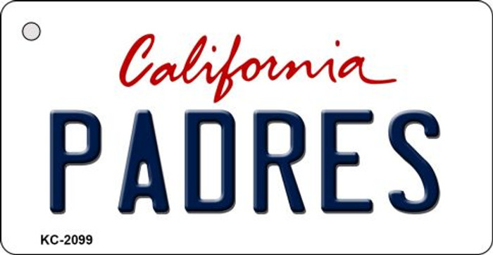 Padres California State License Plate Wholesale Key Chain KC-2099