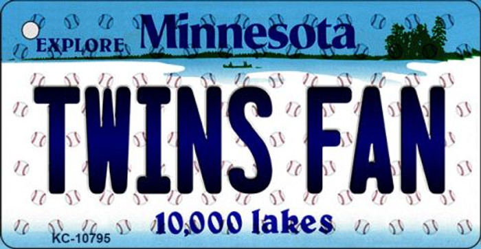 Twins Fan Minnesota State License Plate Wholesale Key Chain KC-10795