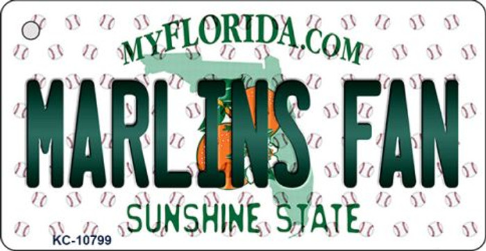Marlins Fan Florida State License Plate Wholesale Key Chain KC-10799