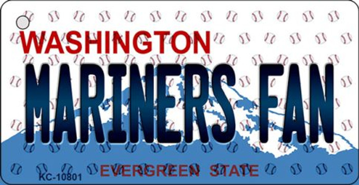 Mariners Fan Washington State License Plate Wholesale Key Chain KC-10801