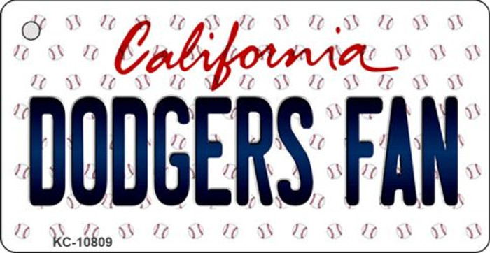 Dodgers Fan California State License Plate Wholesale Key Chain KC-10809