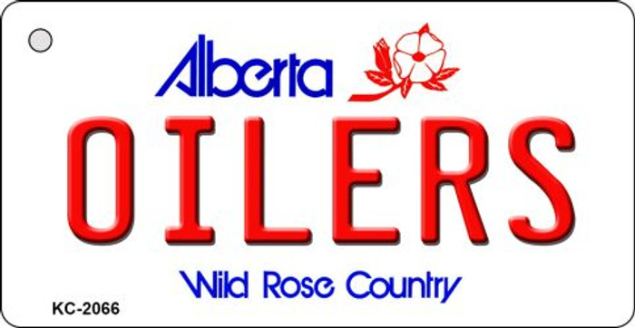 Oilers Alberta State License Plate Wholesale Key Chain KC-2066