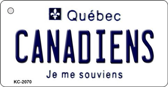 Canadiens Quebec State License Plate Wholesale Key Chain KC-2070