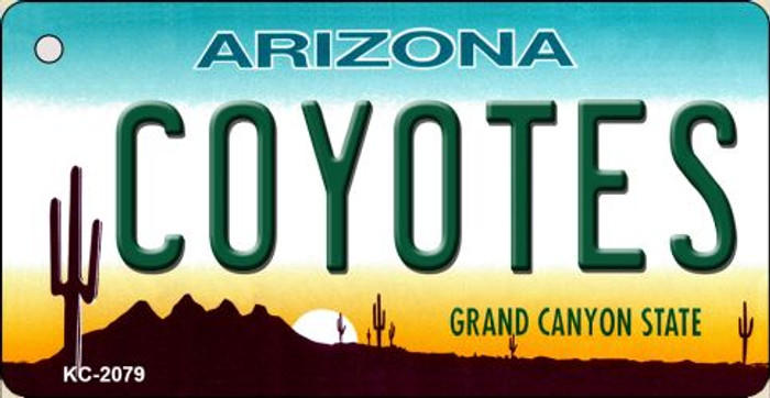 Coyotes Arizona State License Plate Wholesale Key Chain KC-2279