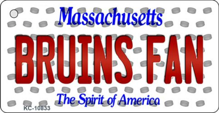Bruins Fan Massachusetts State License Plate Wholesale Key Chain KC-10833