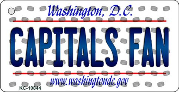 Capitals Fan Washington DC State License Plate Wholesale Key Chain KC-10844