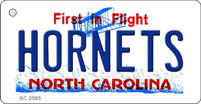 Hornets North Carolina State License Plate Wholesale Key Chain KC-2565