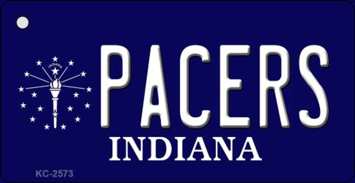 Pacers Indiana State License Plate Wholesale Key Chain KC-2573