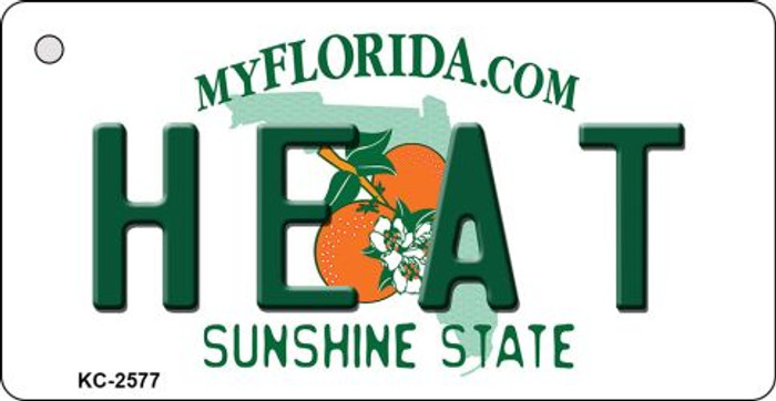 Heat Florida State License Plate Wholesale Key Chain KC-2577