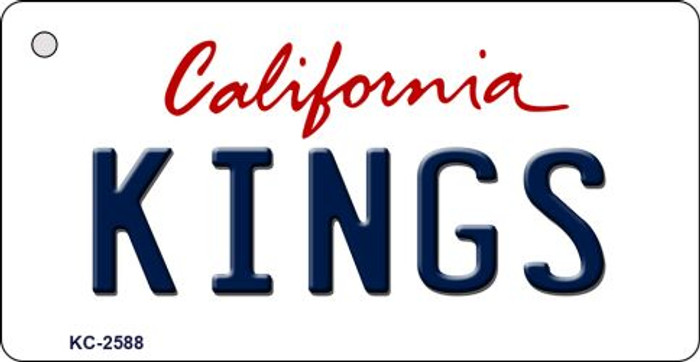 Kings California State License Plate Wholesale Key Chain KC-2588