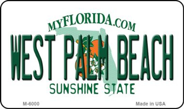 West Palm Beach Florida State License Plate Wholesale Magnet M-6000