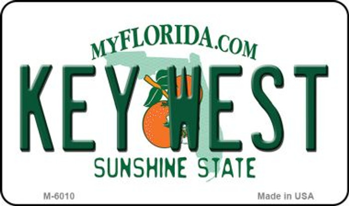 Key West Florida State License Plate Wholesale Magnet M-6010