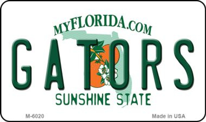 Gators Florida State License Plate Wholesale Magnet M-6020