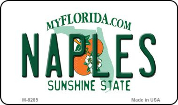 Naples Florida State License Plate Wholesale Magnet M-8285