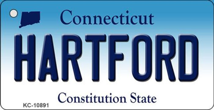 Hartford Connecticut State License Plate Wholesale Key Chain KC-10891