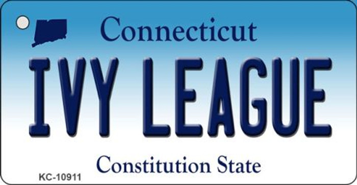 Ivy League Connecticut State License Plate Wholesale Key Chain KC-10911