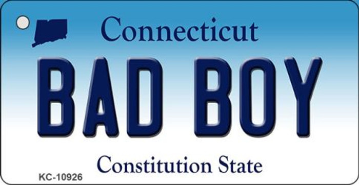 Bad Boy Connecticut State License Plate Wholesale Key Chain KC-10926