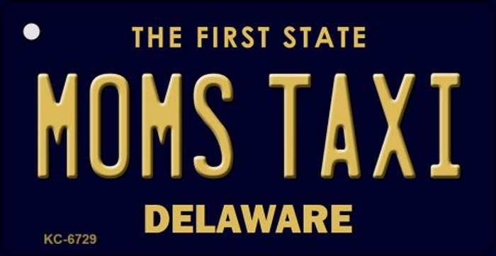 Moms Taxi Delaware State License Plate Wholesale Key Chain KC-6729