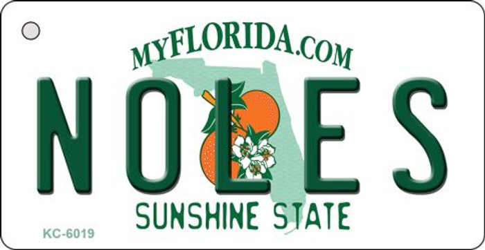 Noles Florida State License Plate Wholesale Key Chain KC-6019