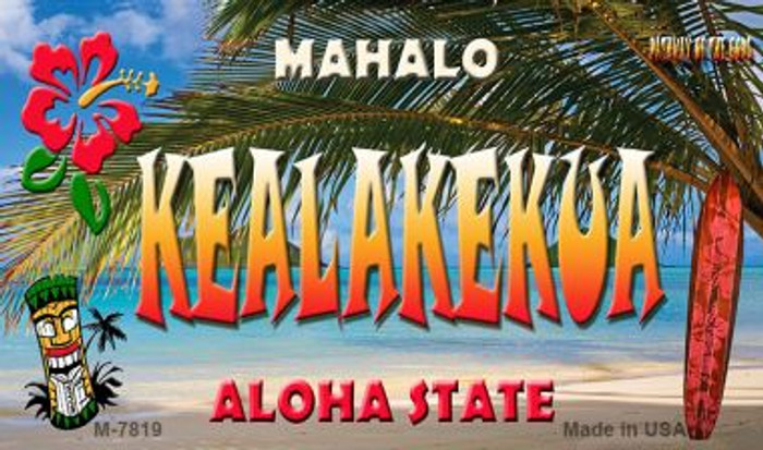 Kealakekue Tiki Novelty Wholesale Metal Magnet M-7819