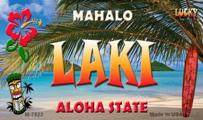 Laki Tiki Novelty Wholesale Metal Magnet M-7822