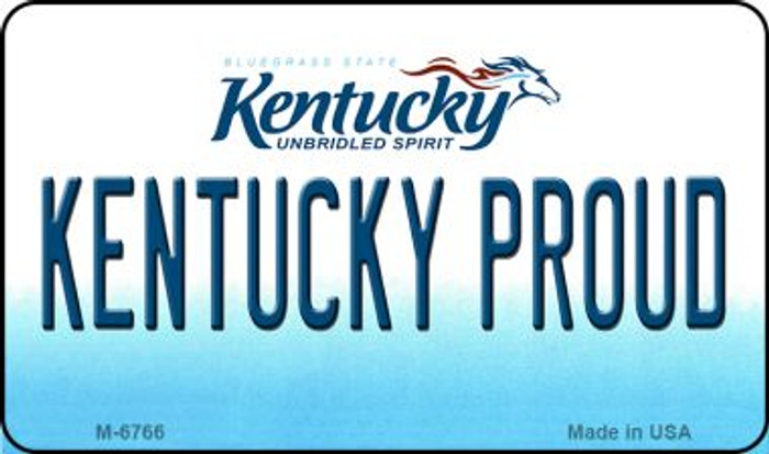 Kentucky Proud State License Plate Novelty Wholesale Magnet M-6766