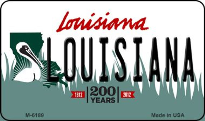 Louisiana Louisiana State License Plate Novelty Wholesale Magnet M-6189