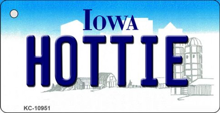 Hottie Iowa State License Plate Novelty Wholesale Key Chain KC-10951
