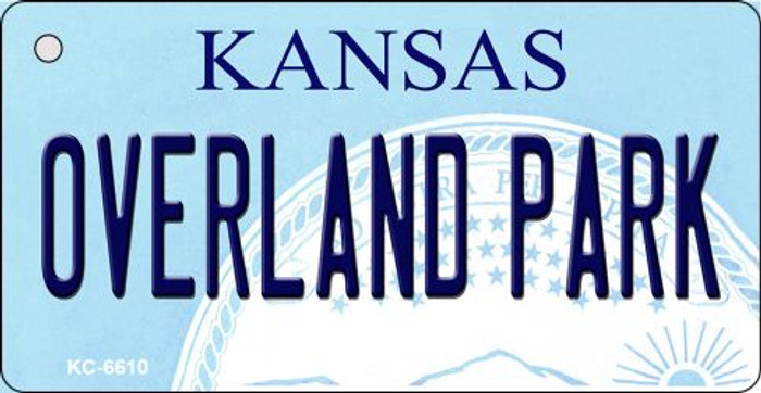 Overland Park Kansas State License Plate Novelty Wholesale Key Chain KC-6610