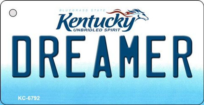 Dreamer Kentucky State License Plate Novelty Wholesale Key Chain KC-6792