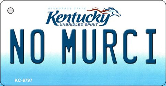 No Murci Kentucky State License Plate Novelty Wholesale Key Chain KC-6797