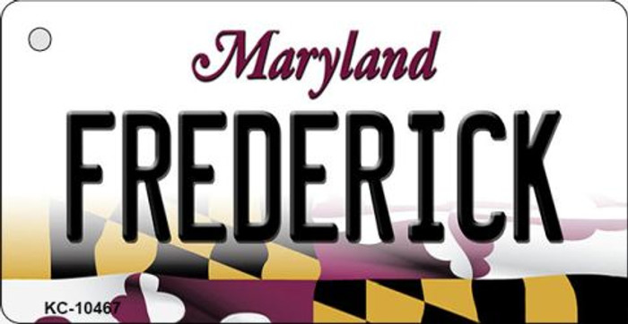 Frederick Maryland State License Plate Key Chain Wholesale KC-10467