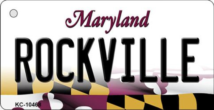 Rockville Maryland State License Plate Wholesale Key Chain KC-10468