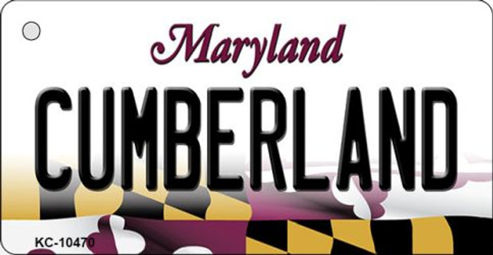Cumberland Maryland State License Plate Wholesale Key Chain KC-10470