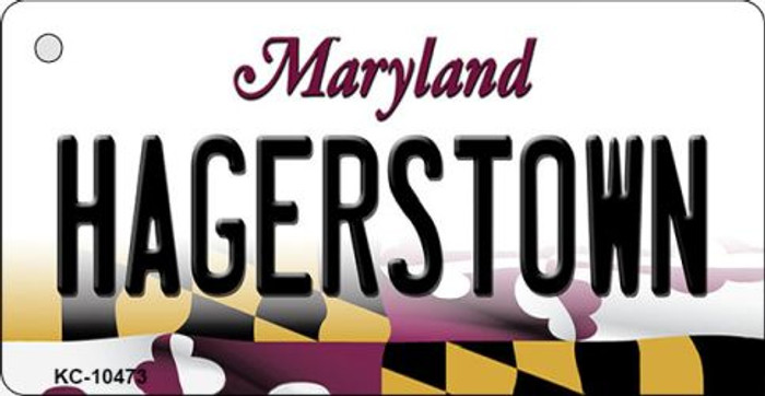 Hagerstown Maryland State License Plate Wholesale Key Chain KC-10473