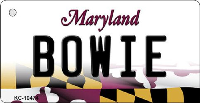 Bowie Maryland State License Plate Wholesale Key Chain KC-10474