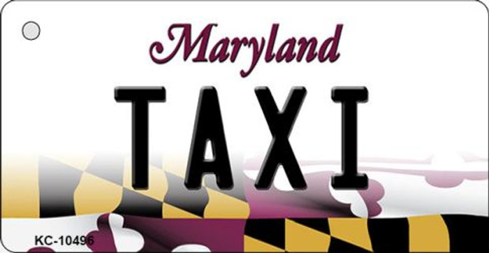 Taxi Maryland State License Plate Wholesale Key Chain KC-10496