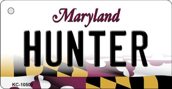 Hunter Maryland State License Plate Wholesale Key Chain KC-10500