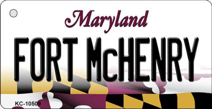 Fort McHenry Maryland State License Plate Wholesale Key Chain KC-10509