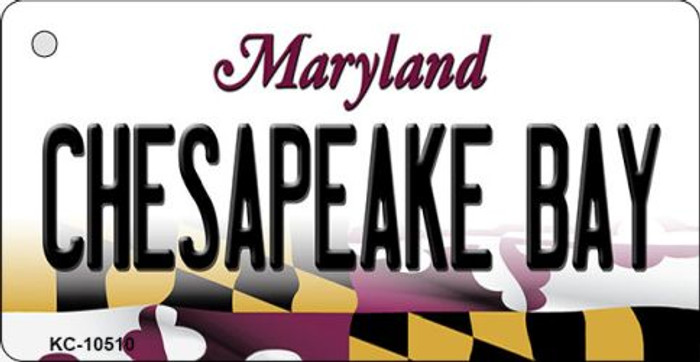 Chesapeake Bay Maryland State License Plate Wholesale Key Chain KC-10510