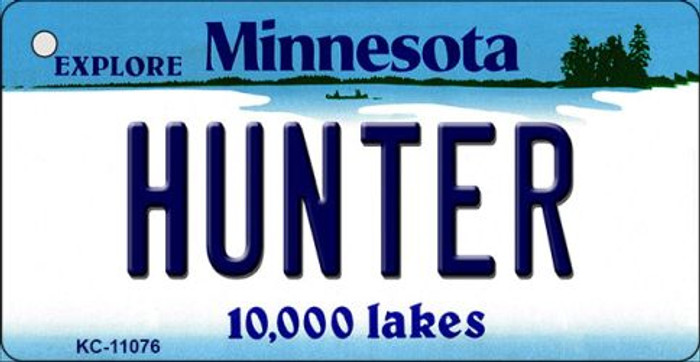 Hunter Minnesota State License Plate Novelty Wholesale Key Chain KC-11076