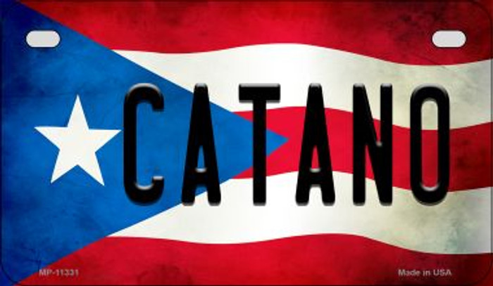 Catano Puerto Rico State Flag License Plate Wholesale Motorcycle License Plate MP-11331