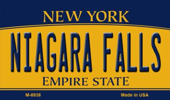 Niagara Falls New York State License Plate Wholesale Magnet M-8938