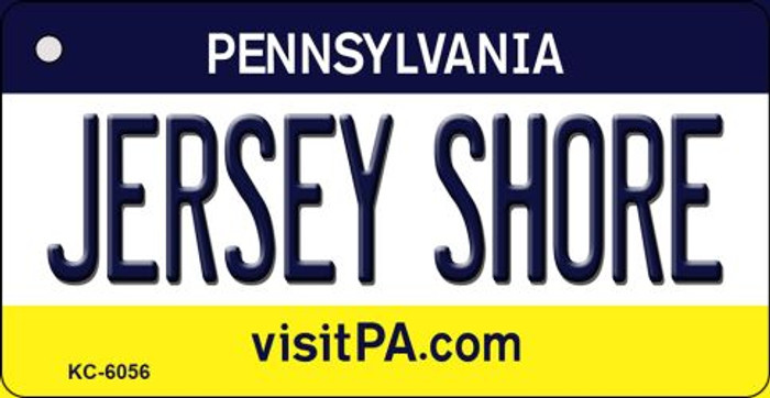 Jersey Shore Pennsylvania State License Plate Wholesale Key Chain KC-6056