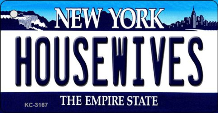 Housewives New York State License Plate Wholesale Key Chain KC-3167