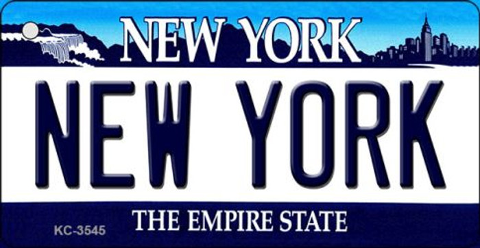 New York State License Plate Wholesale Key Chain KC-3545