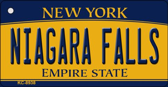 Niagara Falls New York State License Plate Wholesale Key Chain KC-8938